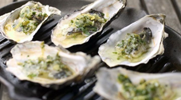 Barbecued Oysters On The Half Shell Recipe