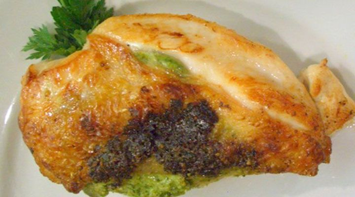 Chicken Cooked under a Brick with Olive-Orange Tapenade Recipe