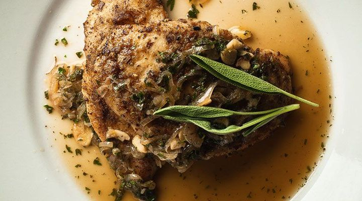Latin Spice-Rubbed Chicken with Chimichurri Sauce Recipe
