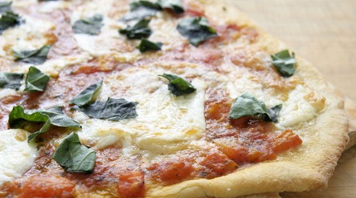 Pizzetta Margherita: Pizza With Tomatoes & Basil Recipe