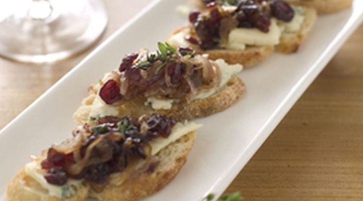 Wild Mushroom Crostini with Teleme and Thyme Recipe