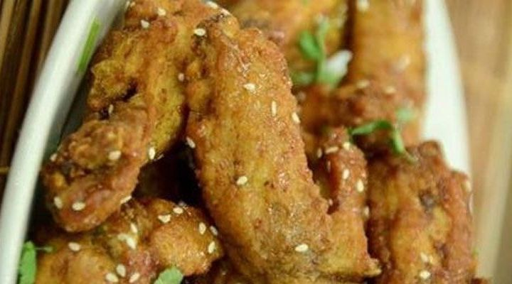 Sweet and Sour Korean Fried Chicken Wings Recipe