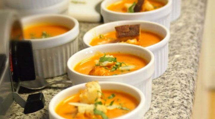 Sweet Pumpkin and Apple Cider Soup with Sage Recipe