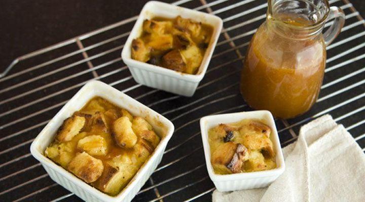 Thanksgiving Recipe Pumpkin Brioche Bread Pudding With